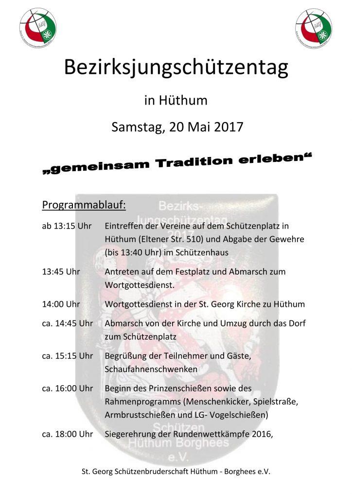 Einladung Bezirksjungschützentag